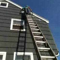 Exterior Painting Work Process Marina View SG